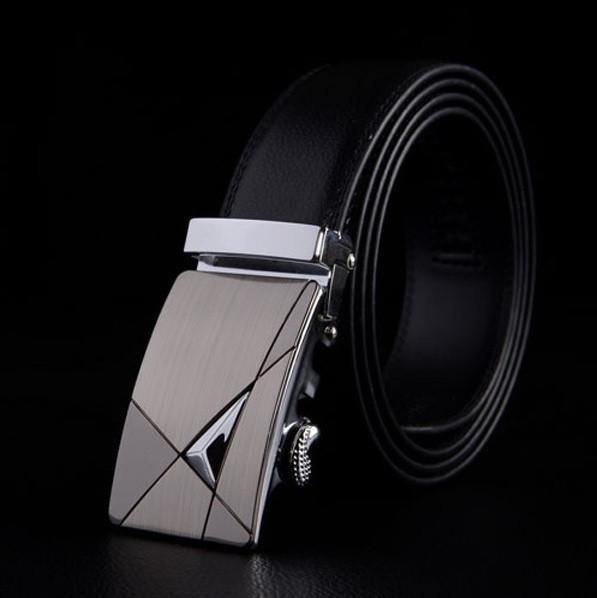 Bermuda Eye Embossed Leather Belt