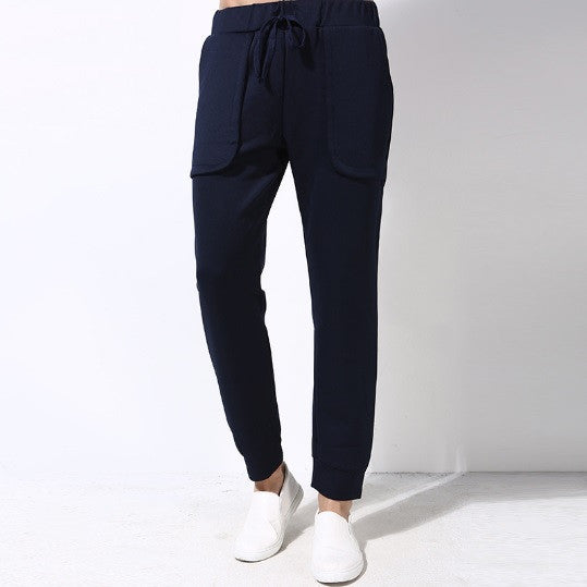 Dual-Pocketed Casual Joggers