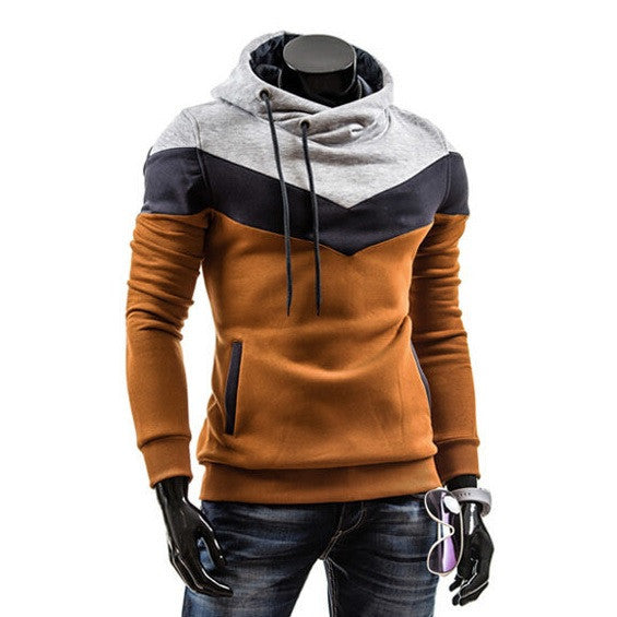 Contemporary Hooded Trigonometric Pullover