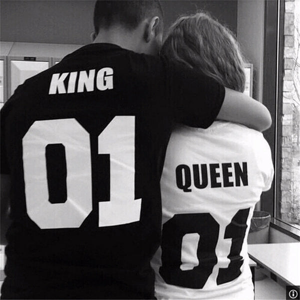 King and Queen Summer T-Shirt