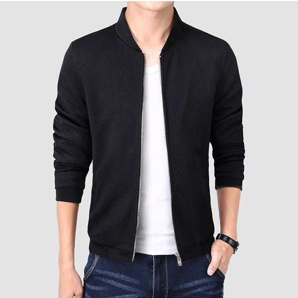 Contemporary Thin Textured Jacket