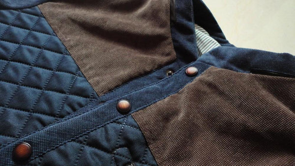 Quilted Style Fleece Jacket