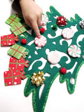 Invitation to Decorate: Felt Christmas Tree Craft
