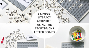 3 Simple Literacy Activities Using The StoryBricks Letter Board