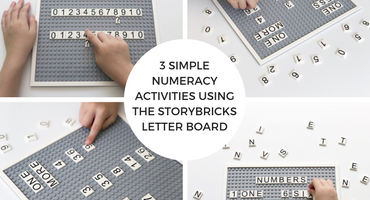 3 Simple Numeracy Activities Using The StoryBricks Letter Board