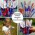 4th of July Straw Rockets