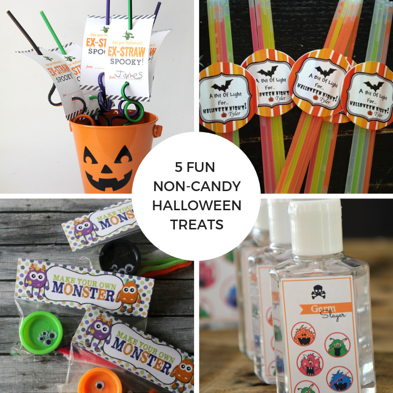 5 Fun Non-Candy Halloween Treats