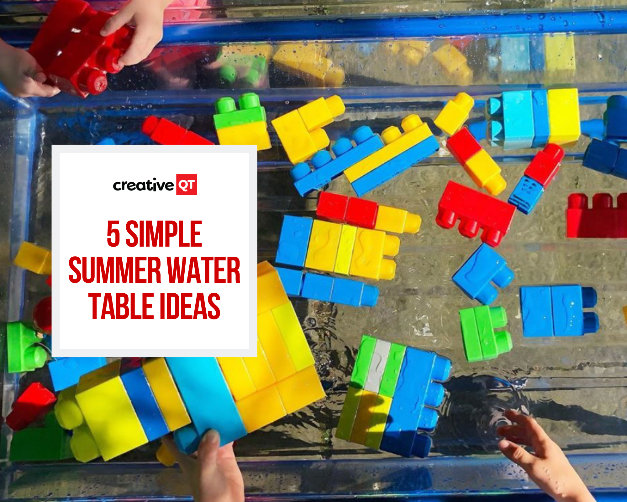 5 Simple Summer Water Table Ideas
