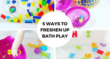 5 Ways to Freshen Up Bath Play