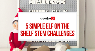 5 Simple Elf on the Shelf STEM Challenges