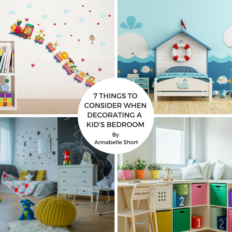 7 Things to Consider When Decorating a Kid's Bedroom