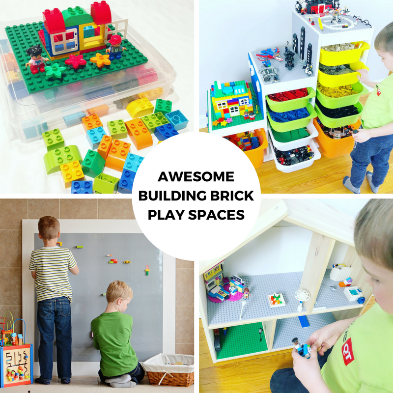 Awesome Building Brick Play Spaces