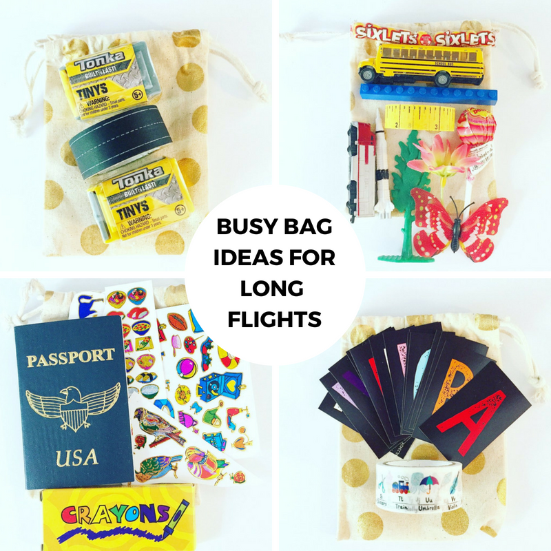 Staying Sane on the Plane: Busy Bag Ideas for Long Flights