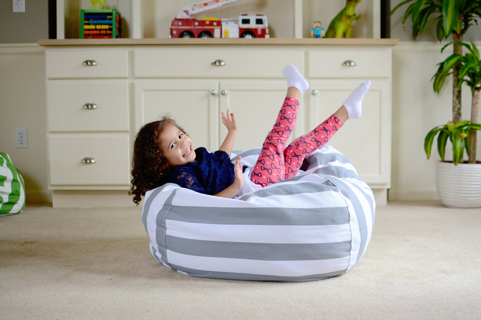Containing the Chaos: How our Stuff 'n Sit Bean Bag will Declutter your Critters!