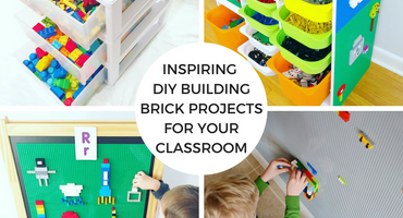 Peel, Stick, Play & Learn: Inspiring DIY Building Brick Projects for your Classroom