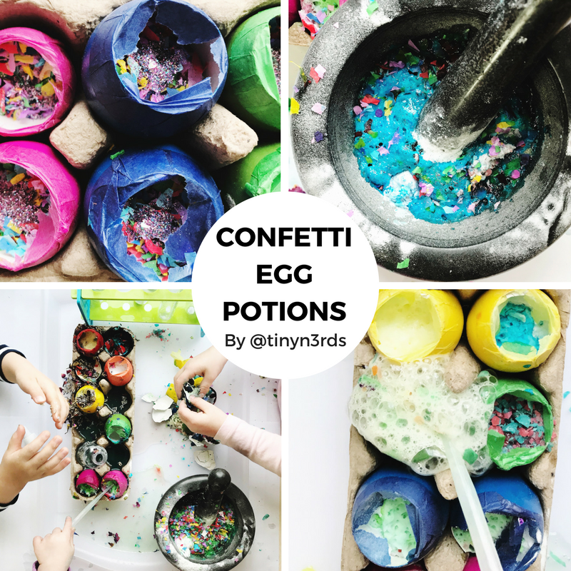 Easter STEAM Special: Confetti Egg Potions