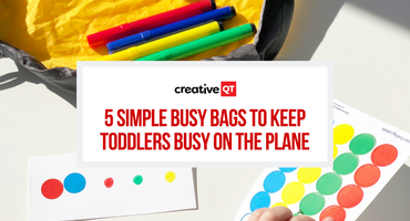 5 Busy Bags to Keep Toddlers Busy on the Plane