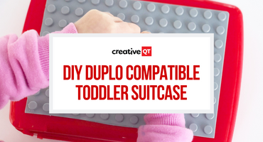 DIY DUPLO Compatible Toddler Suitcase