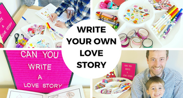 Make Time Together Creative Challenge: Write a Love Story