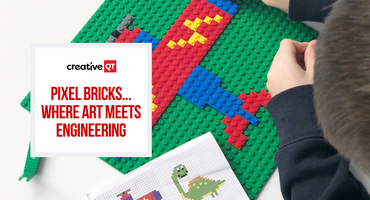 NEW Pixel Bricks... Where Art Meets Engineering!