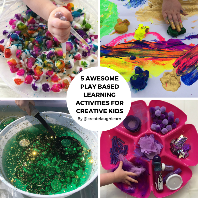 5 Awesome Play Based Learning Activities For Creative Kids Creative Qt