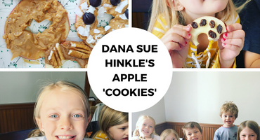 Dana Sue Hinkle's Apple 'Cookies'
