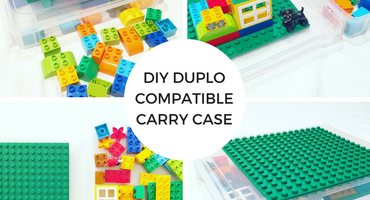 DIY DUPLO Compatible Carry Case