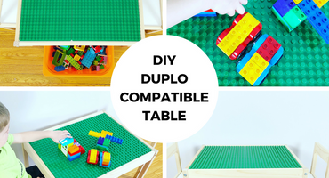 DIY DUPLO Compatible Table