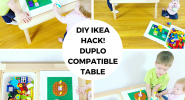 DIY IKEA HACK! DUPLO Compatible Table