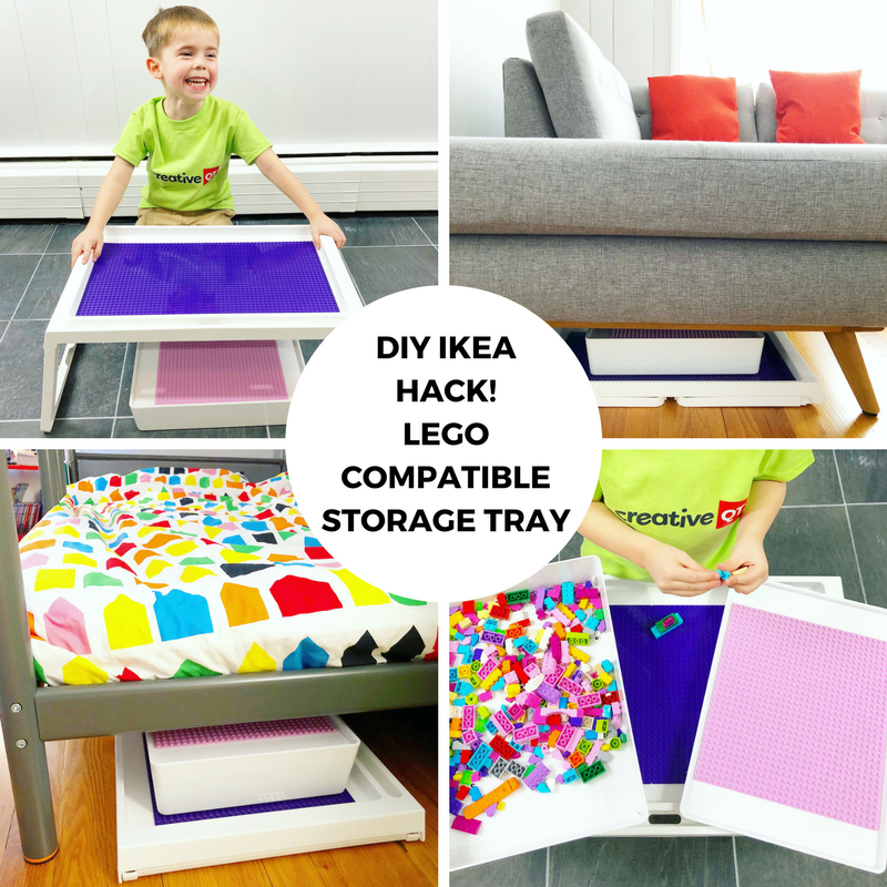 DIY IKEA HACK! LEGO Compatible Storage Tray