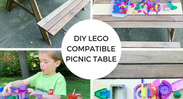 DIY LEGO Compatible Picnic Table