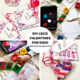 DIY LEGO Valentines for Kids!