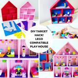 DIY TARGET HACK! LEGO Compatible Play House