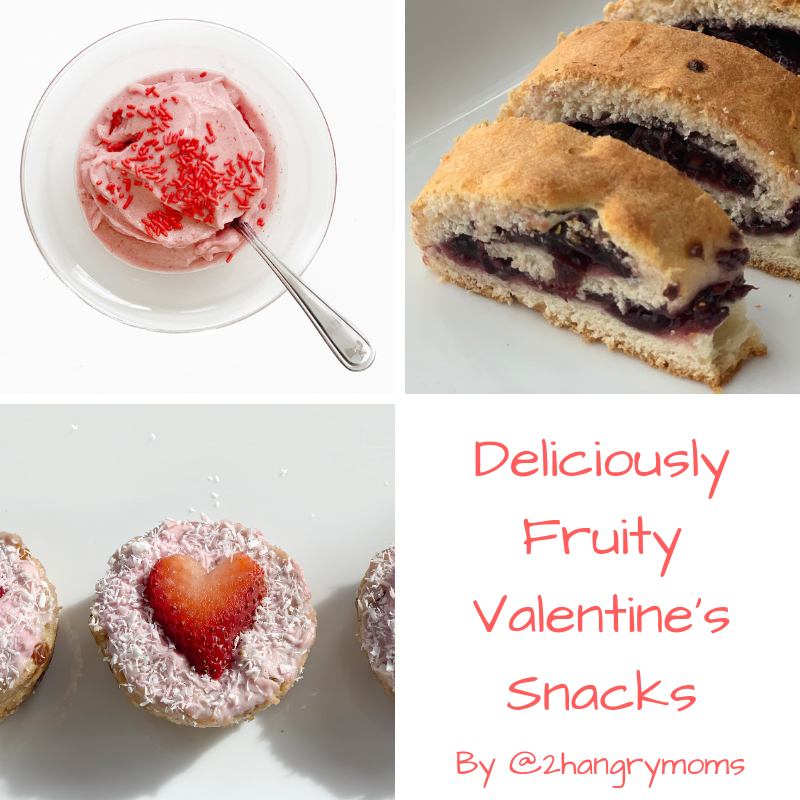 Deliciously Fruity Valentine's Snacks by @2hangrymoms