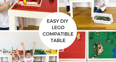 The Easiest LEGO Compatible Table You'll Ever Make!