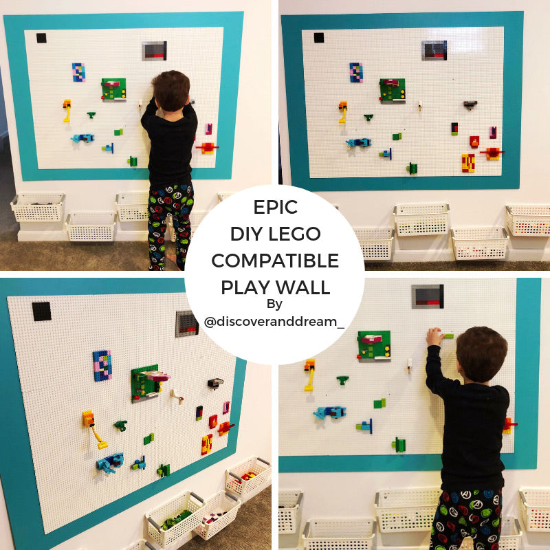 How to Make a Epic DIY LEGO Compatible Play Wall