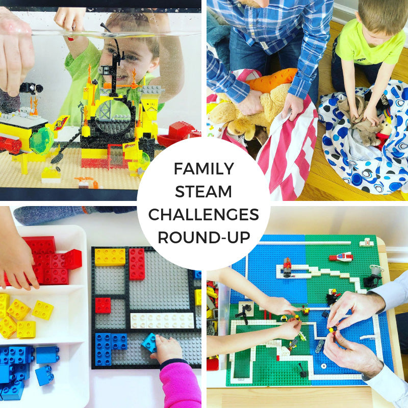 Family STEAM Challenges Round-up