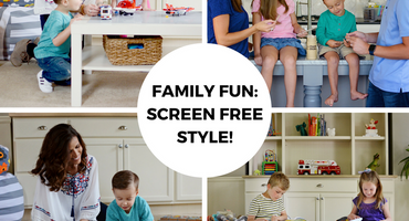 Family Fun: Screen Free Style!