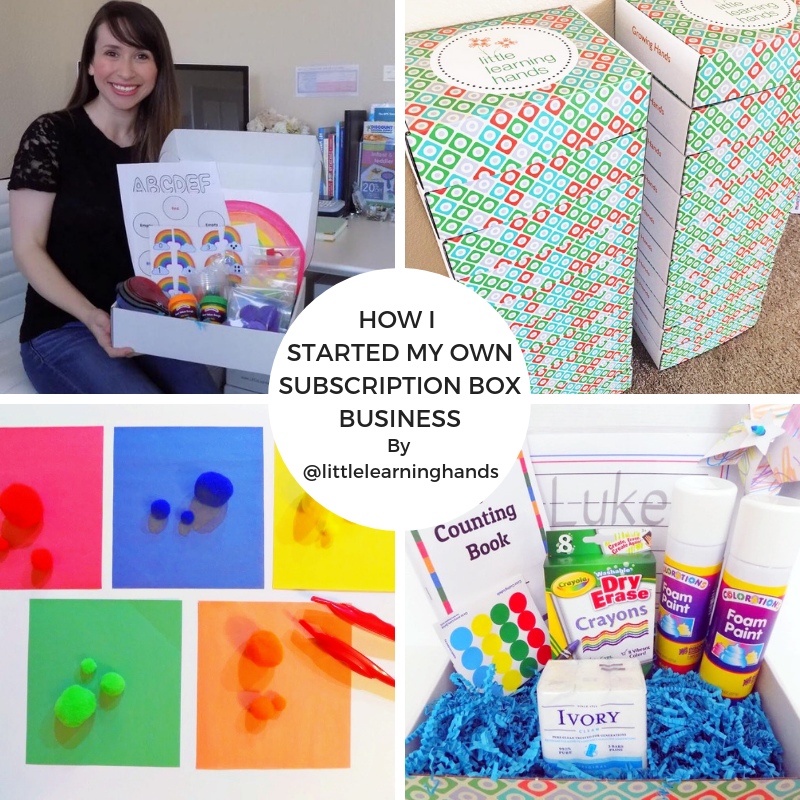 How I Started My Own Subscription Box Business