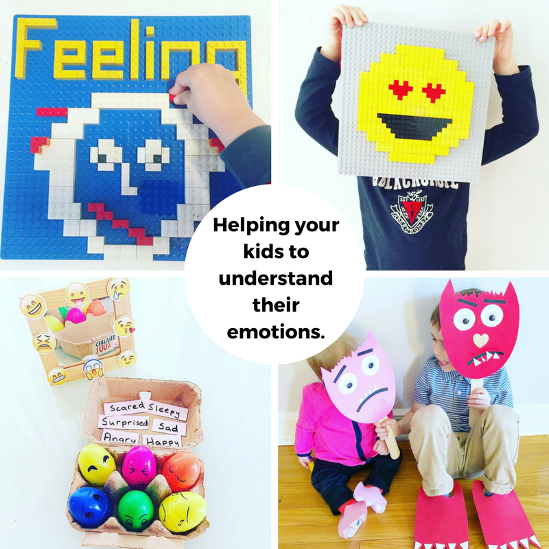 Helping your kids to understand their emotions.