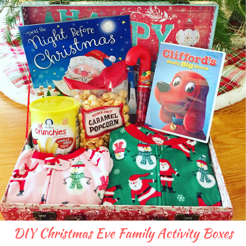 Christmas Eve Activities.Diy Christmas Eve Family Activity Boxes Creative Qt