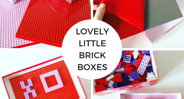 Lovely Little DIY Brick Boxes