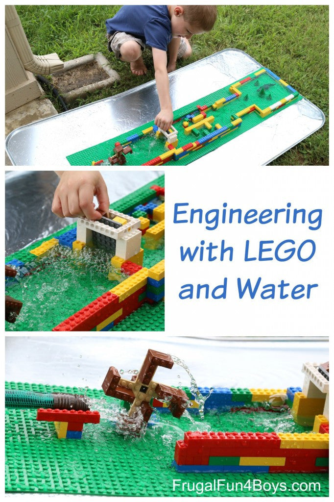 Water Week Day 2: Build a LEGO® Water Wheel