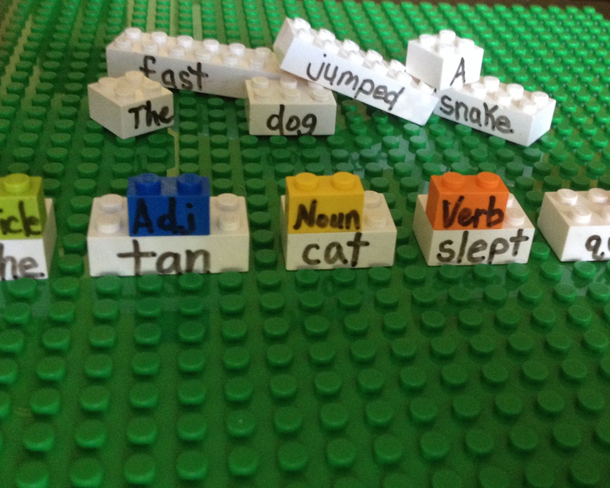 Teaching With Building Blocks - Lesson 5: Creative Writing and Sentence Diagraming