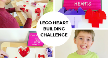 Make Time Together Creative Challenge: Building Hearts