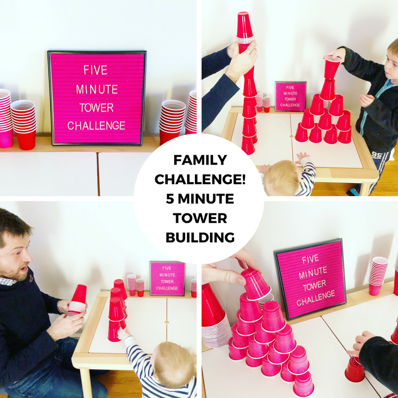 Make Time Together Creative Challenge: Tower Building