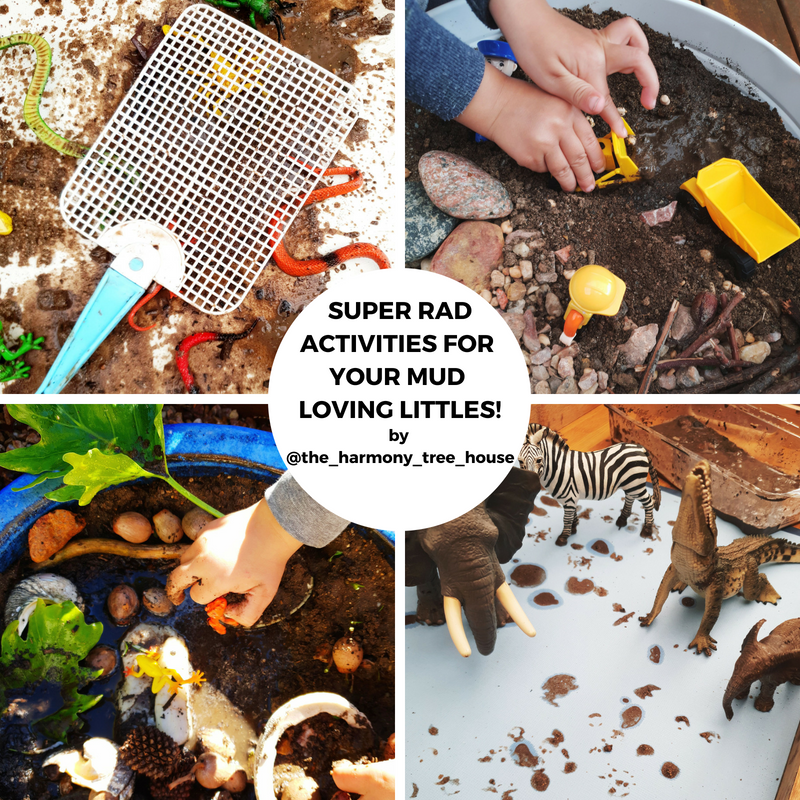 Mud, Glorious Mud! Super Rad Activities for your Mud-Loving Littles