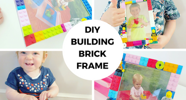 Mother's Day Special: DIY Building Brick Picture Frames