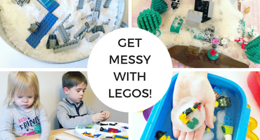 Get Messy with LEGOs!