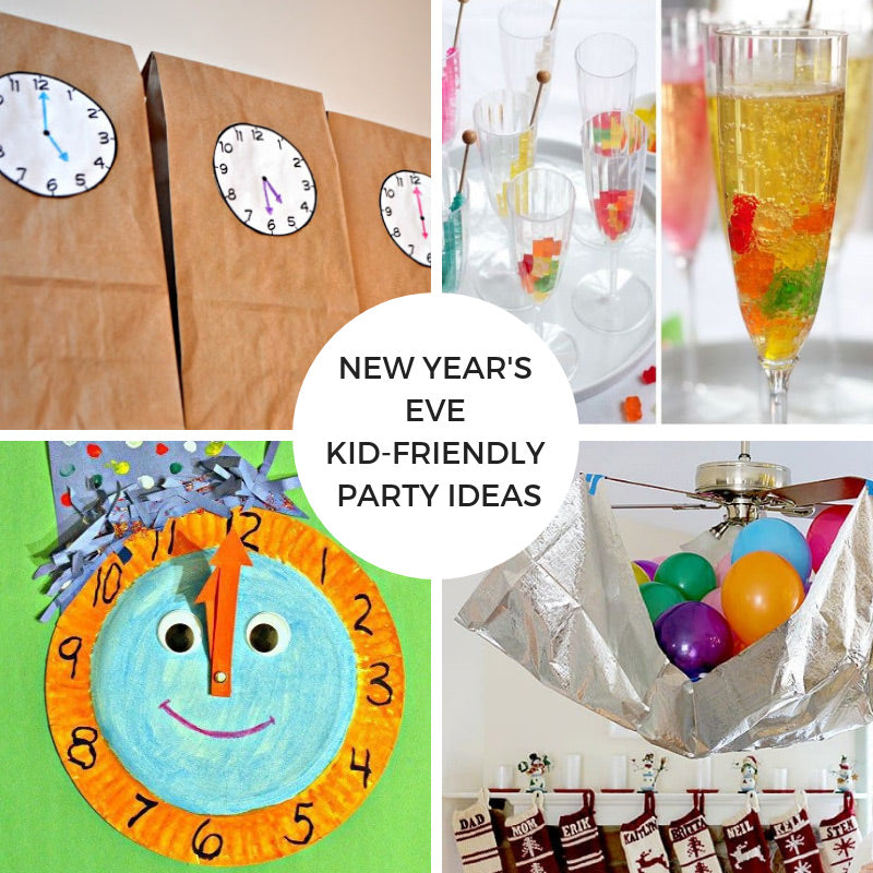 New Year's Eve Kid-Friendly Party Ideas